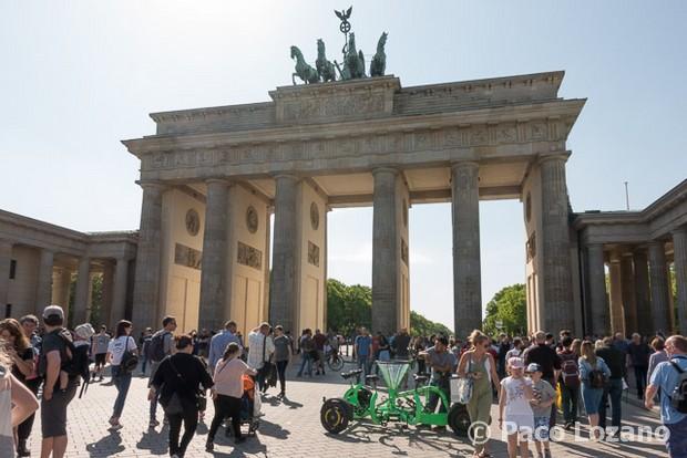 Berlín: Puerta de Brandenburgo