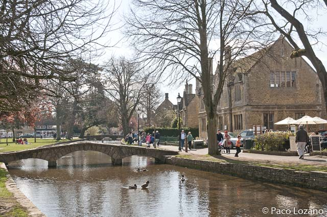 Bourton-on-the-Water, en el circuito por Inglaterra