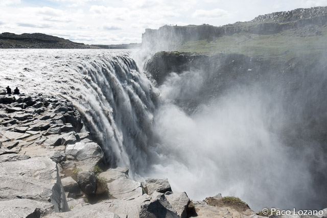 Dettifoss, la cascada de mayor caudal de Islandia