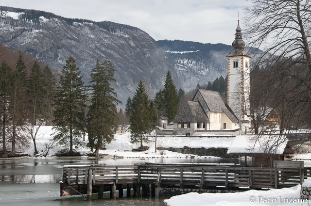 Viajar a Eslovenia, recomendaciones: el lago Bohinj