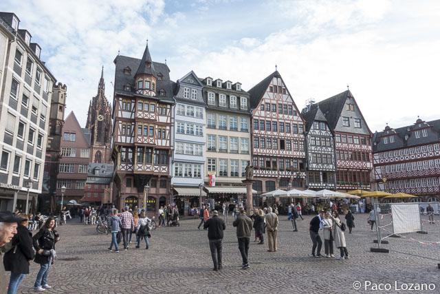 Frankfurt: Römerberg