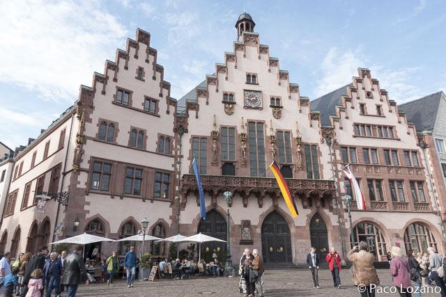 Foto del Römer de Frankfurt
