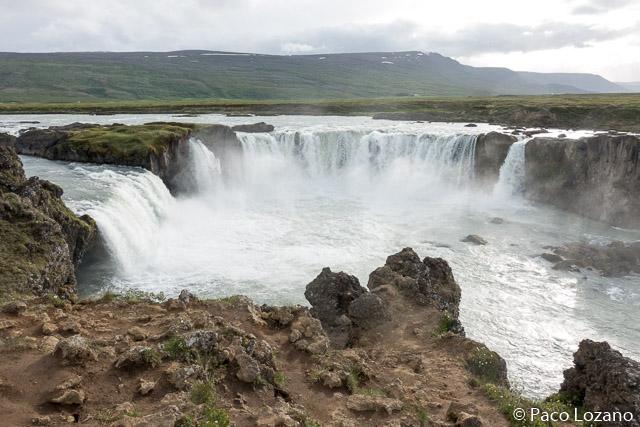 Islandia: Godafoss
