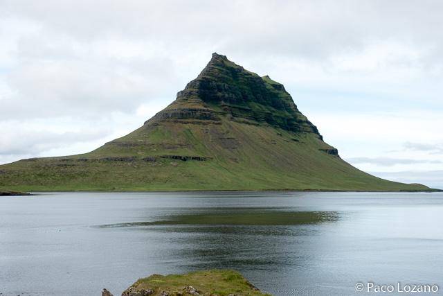 Kirkjufell, en la península de Snæfellsnes