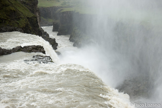 Gullfoss, Círculo Dorado de Islandia