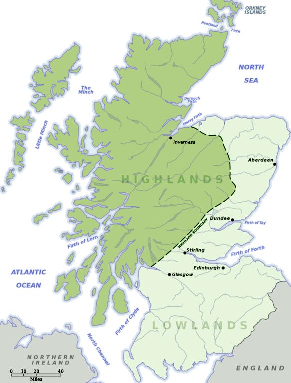 Escocia: Highlands y Lowlands