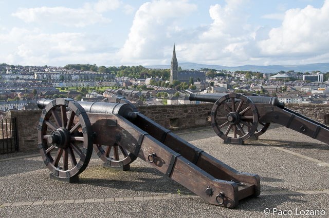 Derry, etapa imprescindible en Irlanda del Norte