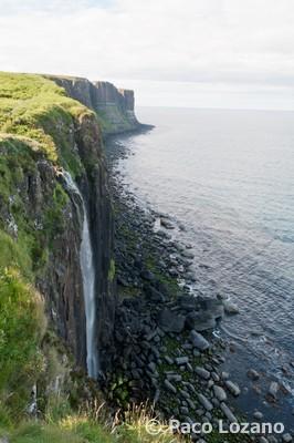 Kilt Rock, mirador en Escocia