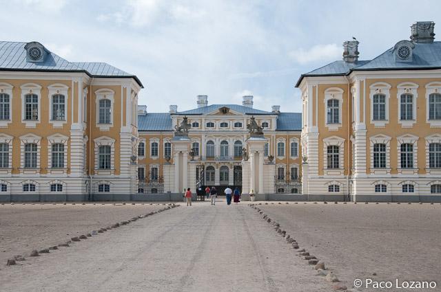 Letonia: palacio de Rundale