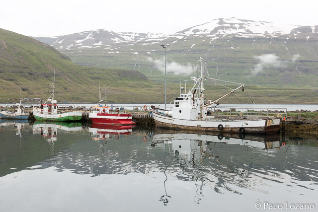 Islandia: Seyðisfjörður, fiordos del este