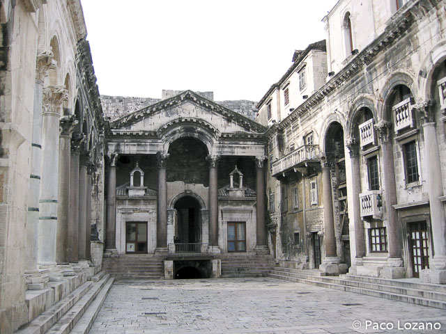 El Palacio de Diocleciano, visita imprescindible en Split
