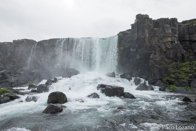Öxarárfoss, en el parque nacional Thingvellir