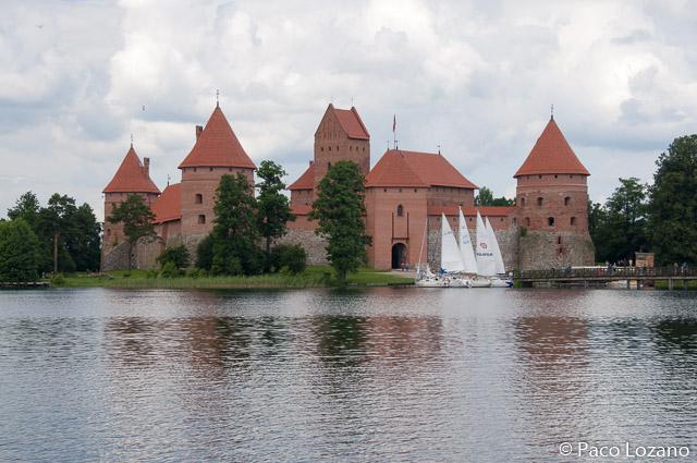 Lituania: castillo de Trakai