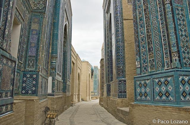 Shah-i-Zinda, visita recomendada en Samarcanda