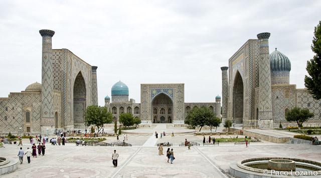 Viajar a Uzbekistán, recomendaciones: Samarcanda