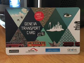 Ginebra: tarjeta de transporte gratis
